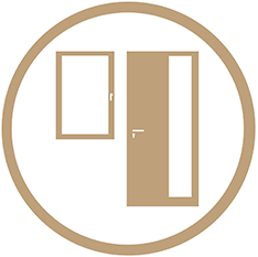 Moderne Fenster und Türen für ein sicheres und gemütliches Zuhause. An Ihre Bedürfnisse und Vorgaben angepasst.